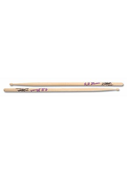 Zildjian Drumsticks, Artist series, Bill Stewart, wood tip, natural