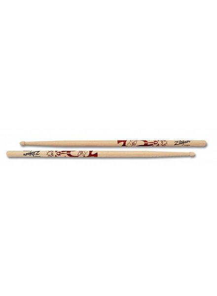 Zildjian Dave Grohl ZIASDG Trommelstöcke Artist Series, Wood Tip, natürliche Farbe