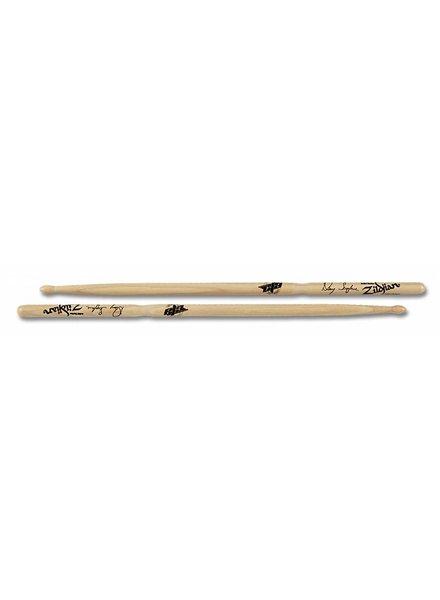 Zildjian Drumsticks, Artist Series, Danny Seraphine, wood tip, natural