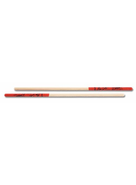 Zildjian drumsticks ASMQ timbales Artist series, Marc Quinones, Wood Tip, natural color, red dip ZIASMQ