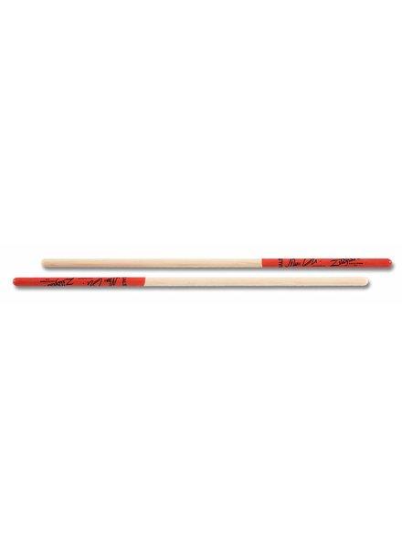 Zildjian ZILDJIAN Trommelstöcke ASMQ timbales Artist Serie, Marc Quinones, Wood Tip, natürliche Farbe, rot tauch ZIASMQ
