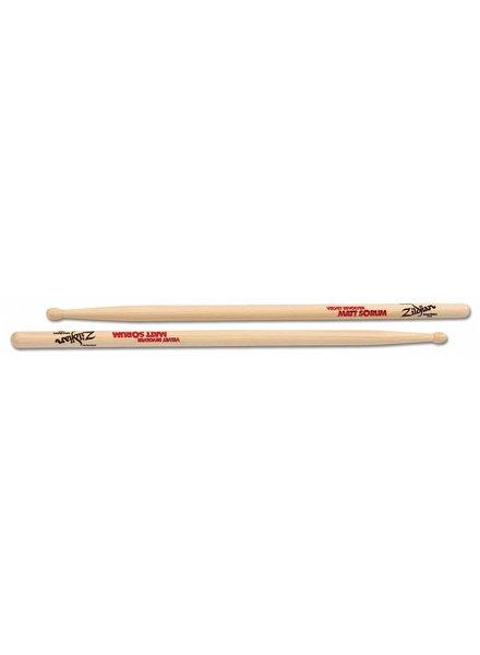 Zildjian Drumsticks, Artist Series, Matt Sorum, wood tip, natural