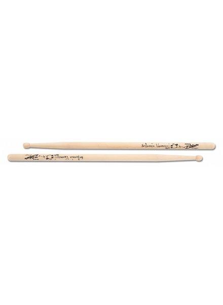 Zildjian ZILDJIAN Trommelstöcke ASRV Artist Series, Ronnie Vannucci, Ahorn, Wood Tip, natürliche Farbe ZIASRV