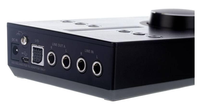 Roland  UA-S10-Audio-Schnittstelle für PC & Mac hervorragende Audioqualität