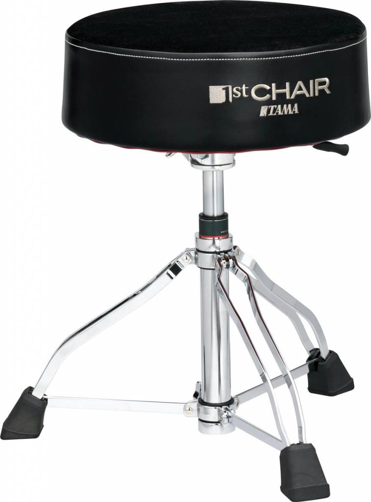 Tama  HT850BC IST CHAIR roundrider Premium Cloth-Top XL seat drumkruk hydraulic