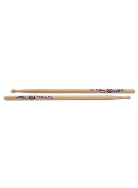 Zildjian Drumsticks, Artist Series, Zak Starkey, wood tip, natural