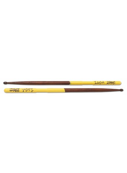 Zildjian drumsticks AStG Artist Series, Trilok Gurtu, Wood Tip, natural color, yellow dip walnut ZIASTG