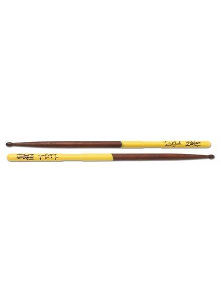 Zildjian ZILDJIAN Trommelstöcke AStG Artist Series, Trilok Gurtu, Wood Tip, natürliche Farbe, gelb-Dip Nussbaum ZIASTG