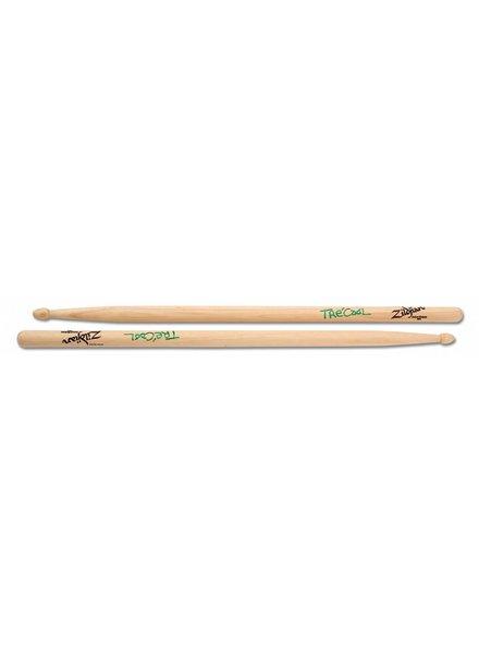 Zildjian Drumsticks, Artist Series, Tre Cool, wood tip, natural