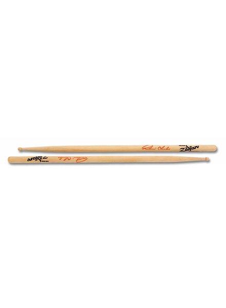 Zildjian Drumsticks, Artist series, Dennis Chambers, wood tip, natural