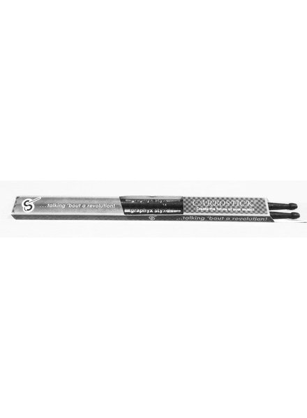 CARBOSTICK GRAPHYX STYX DRUMSTICKS CARBON 5A CLASSIC TIP