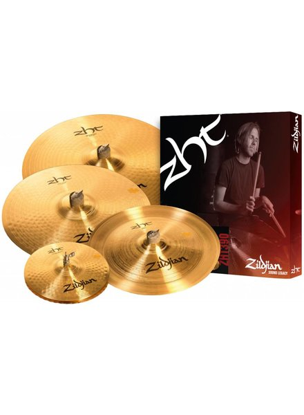 Zildjian ZHT 390 CYMBAL BOX SET 14HH 17 CRASH RIDE 20 16 CHINA