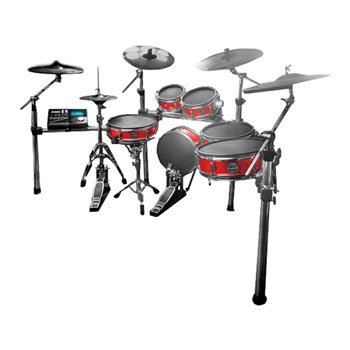 Alesis STRIKE PRO KIT ELECTRONIC DRUMSTEL Professional Electronic Drum Kit with Mesh Heads 6 pieces 5 cymbals