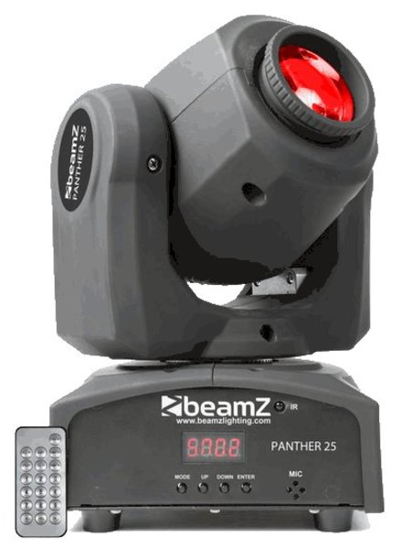 Beamz Panther 25 LED Spot Moving head 150.460