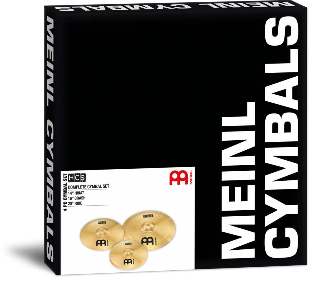 Meinl  HCS141620 CYMBAL SET BEKKENSET