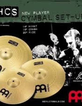 Meinl HCS141620 MEINL CYMBAL SET cymbals