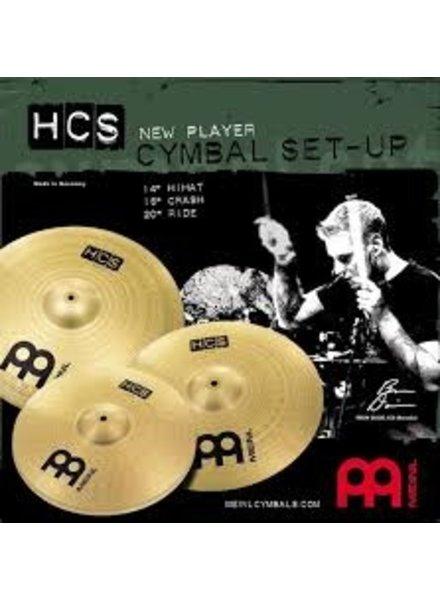 Meinl HCS141620 MEINL Cymbal Set Becken