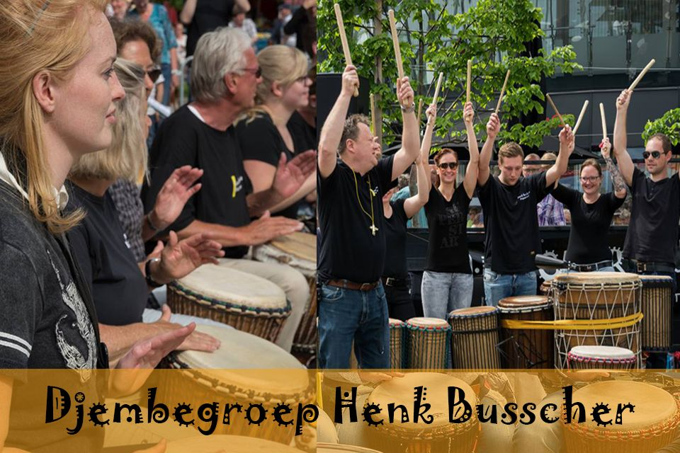 Busscherdrums djembe917 Djem group HB course adults