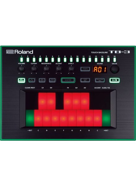 Roland AIRA ROLAND TB-3 Touch Bass Synthesizer AIRA TB3