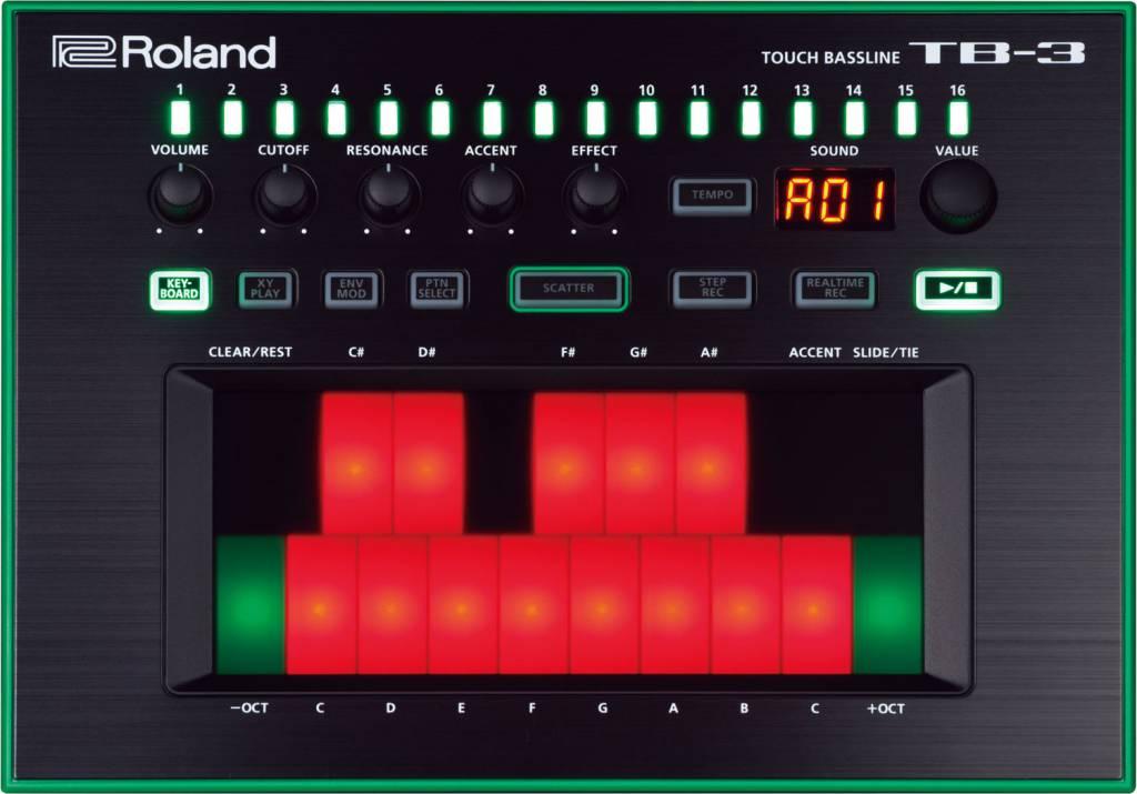Roland AIRA  TB-3-Noten-Bass Synthesizer AIRA TB3