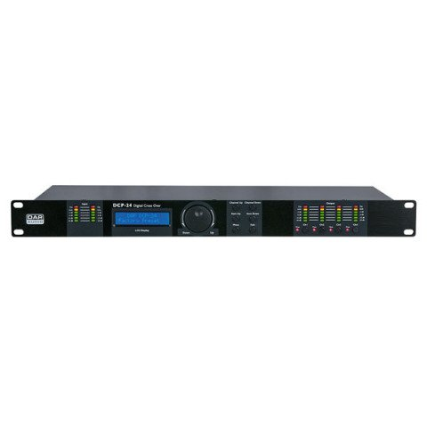 DAP audio pro DAP-Audio DCP-24 MKII Digital Cross Over 2-in, 4-out D2083