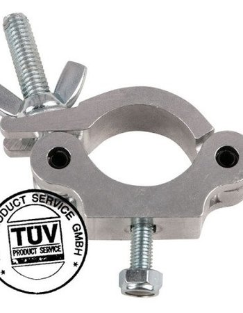 Showtec Showtec 50mm Half Coupler Slimline SWL: 300 kg TUV certification, Metal 70480