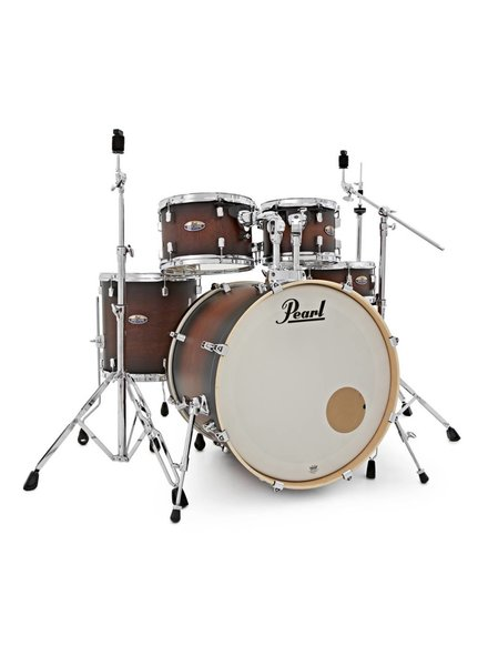Pearl DMP925S / C260 Decade Maple Satin Brown Burst drum