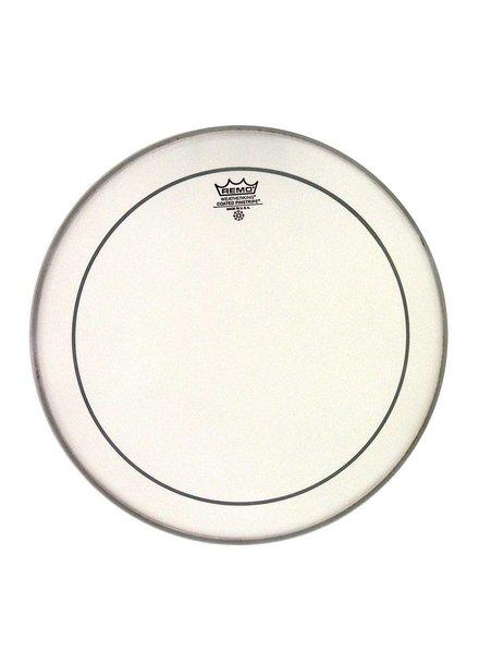REMO Remo PS-0112-00 Pinstripe 12-Zoll-rauhaarige weiß für Tom und Snare Drum