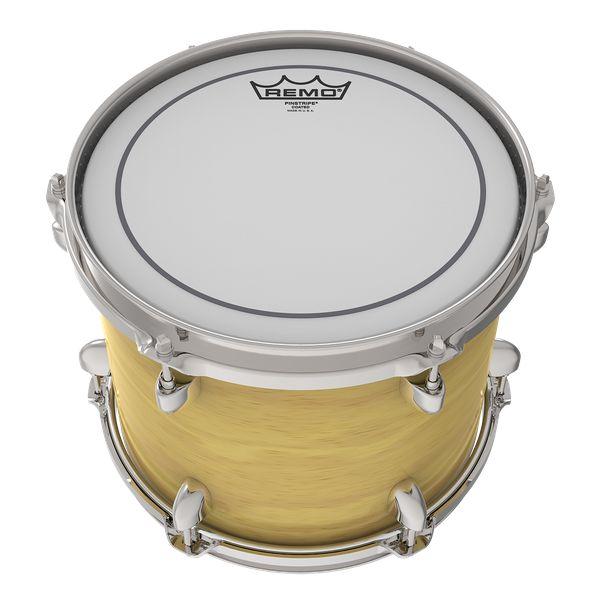REMO  PS-0110-00 Pinstripe 10-Zoll-rauhaarige weiß für Tom und Snare Drum