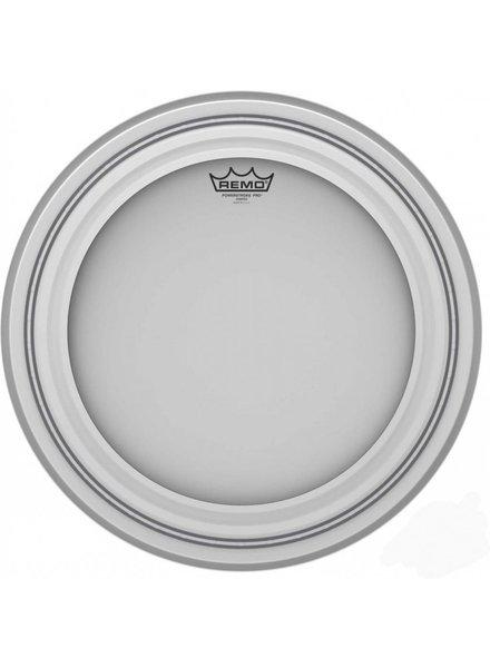 REMO PR-1118-00 Powerstroke Pro Coated 18 inch bassdrum vel