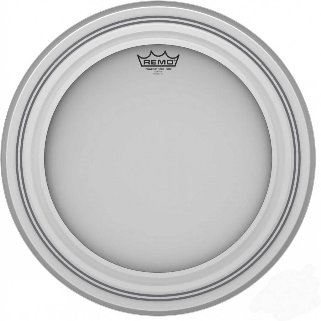 REMO  Powerstroke Pro PR-1122-1100 Coated 22-Zoll-Bass-Drum-Haut
