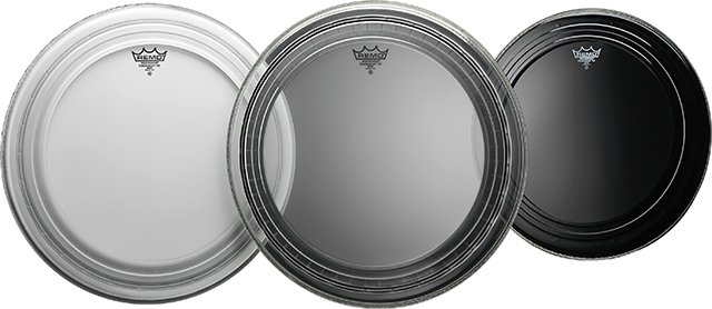 REMO  Powerstroke Pro PR-1124-1100 Coated 24 Zoll Bassdrum Haut