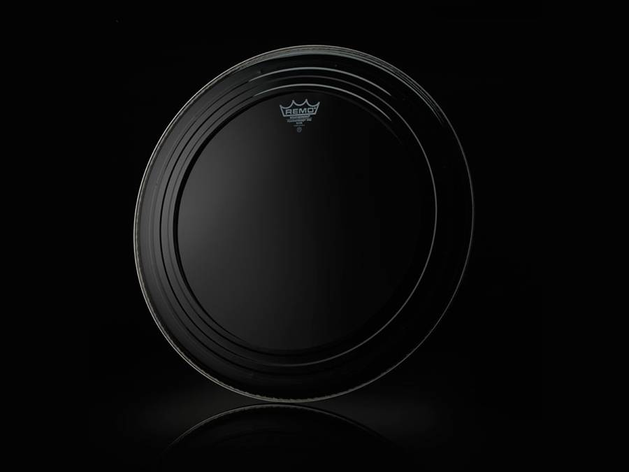 REMO  PR-1124-00 Powerstroke Pro Coated 24 inch bassdrum vel