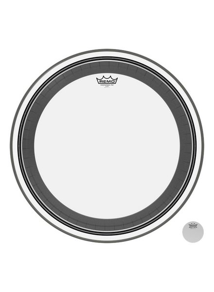 REMO PR 1318-00 Powerstroke Pro Clear 18 inch bass drum skin