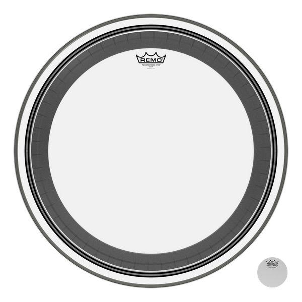 REMO  PR-1324-00 Powerstroke Pro Clear 24 inch bassdrum vel