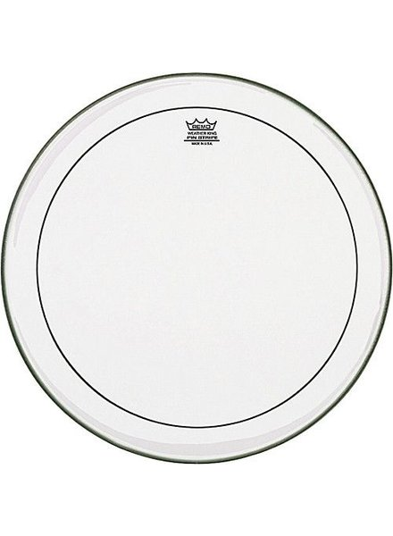 """REMO PS-0318-00 Clear Pinstripe 18 inch, 18 """"floor tom sheet"""