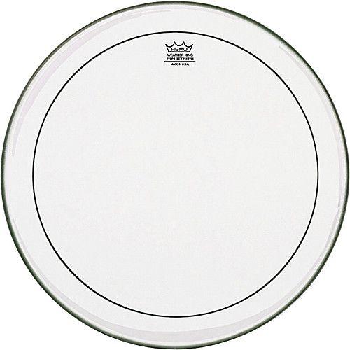 """REMO  PS-0315-00 Klar Pinstripe 15 Zoll, 15 """"Floor-Tom Blatt"""