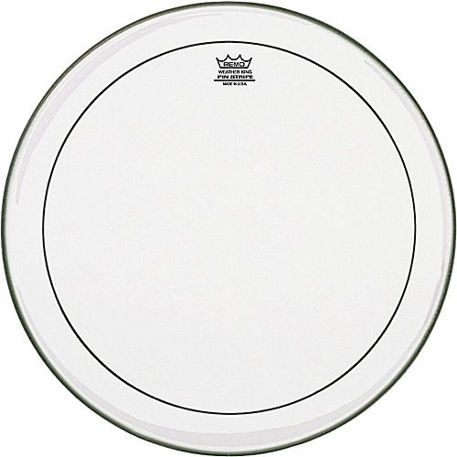 """REMO  PS-0313-00 Pinstripe Clear 13 inch, 13"""" tom vel"""