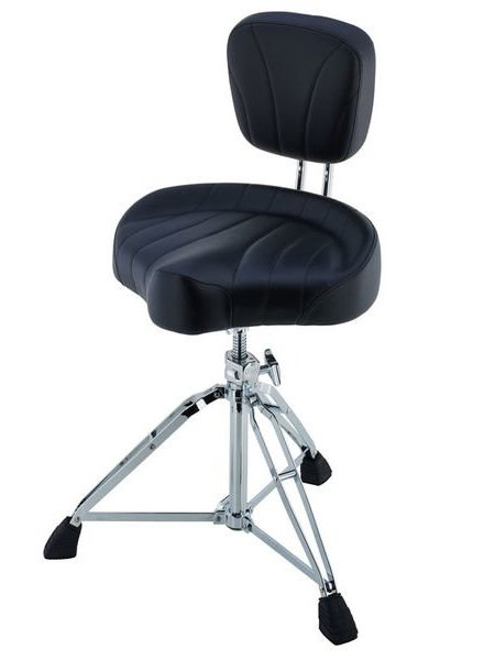 Pearl D-2500BR Roadster Drummers Throne w / Backrest with backrest