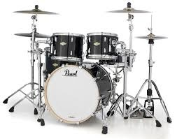 Pearl Perle Session Studio Classic SSC924XUP C103 Drumkit Klavier schwarz