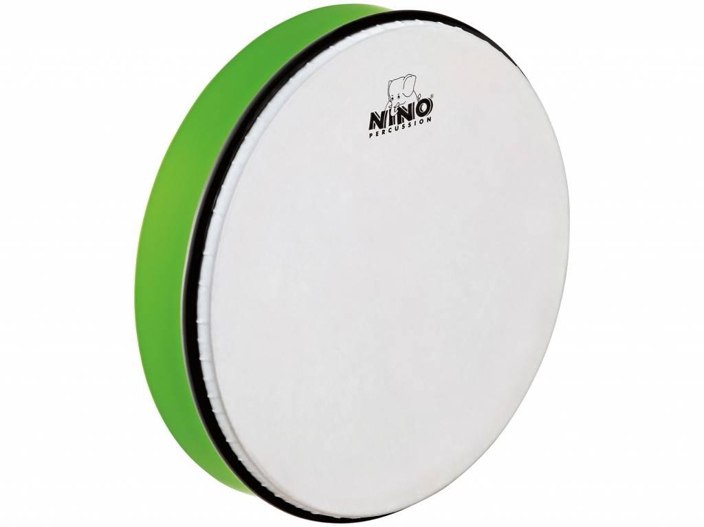 """Meinl NINO Handtrommel NINO6GG abs Handtrommel 12 """"grün inkl. Stab"""