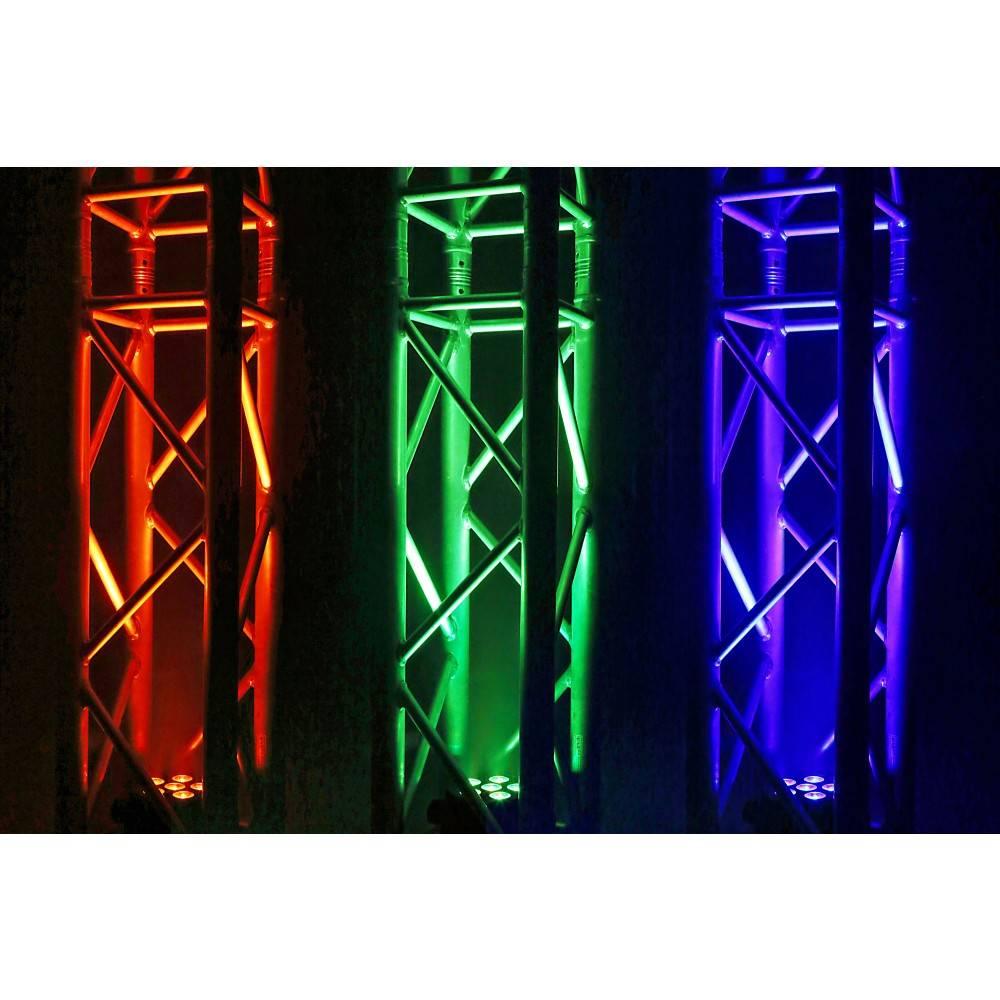 Beamz  BAC406 Aluminium LED PAR-Spot 6x 18W 6-in-1-LEDs 151 304
