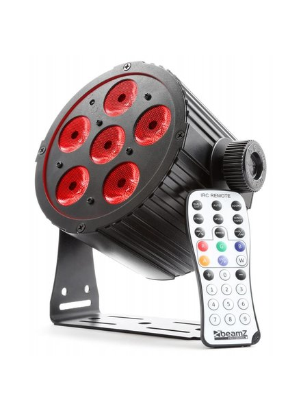 Beamz Beamz BAC406 Aluminium LED PAR-Spot 6x 18W 6-in-1-LEDs 151 304