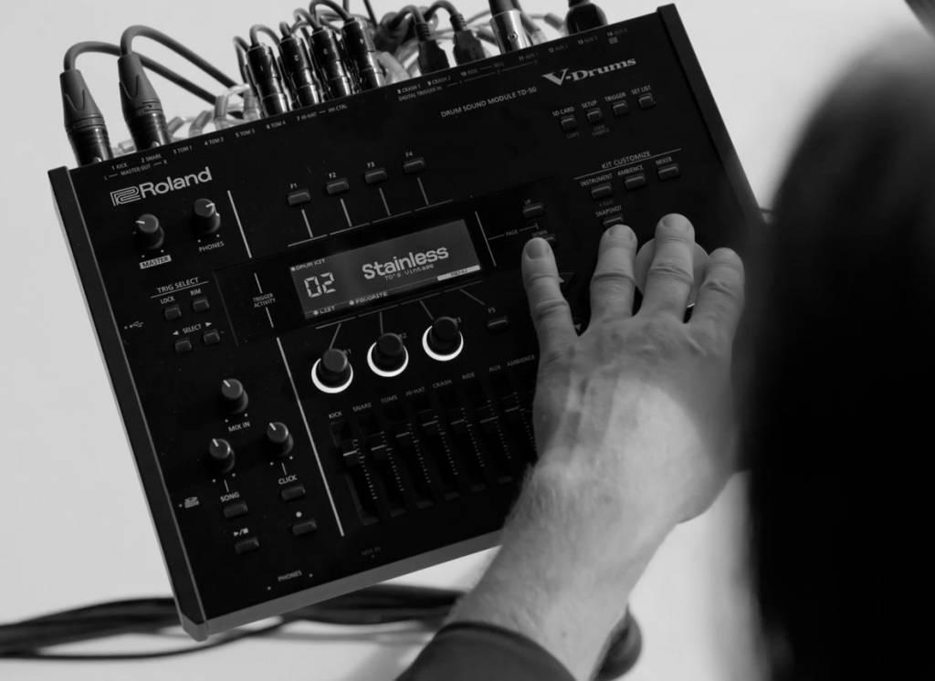 Roland TD-50K demo TD50K