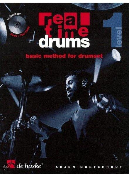 de Haske Real Time Drums lesmethode deel 1 incl. CD