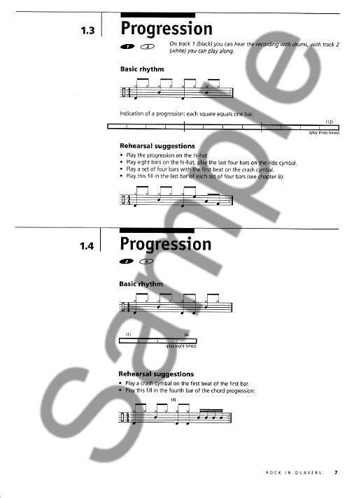de Haske Echtzeit Drums Grund Method For Drumset - Arjen Oosterhout Teil 1 CD inkl.