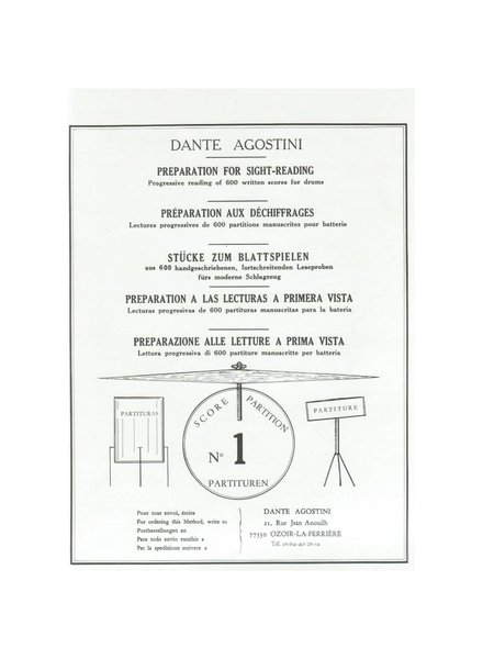 de Haske Dante Agostini preparation for sightreading deel 1