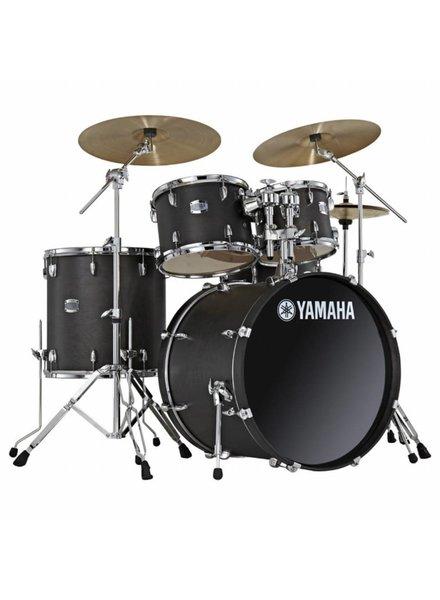 Yamaha Yamaha Stage Custom Birch Studio drumtel RBL Raven Black JSBP2F5RBL