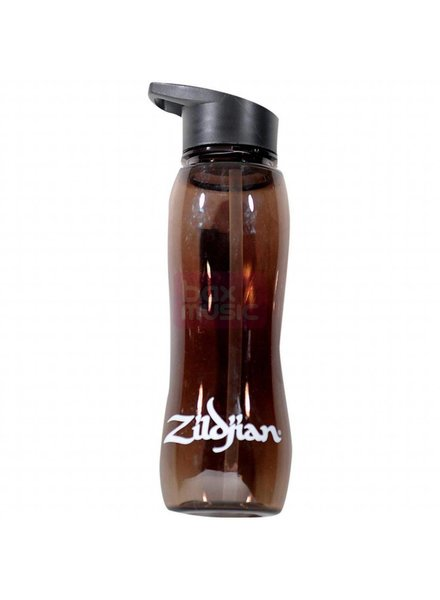 Zildjian Water bottle, plastic, transparent smoke gray, 750ml, BPA-fre