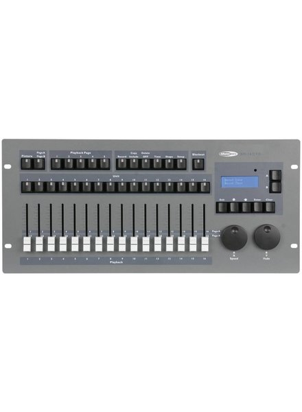 Showtec SM-16/2 FX 32 Channel Lighting Desk with Shape Engine 50702